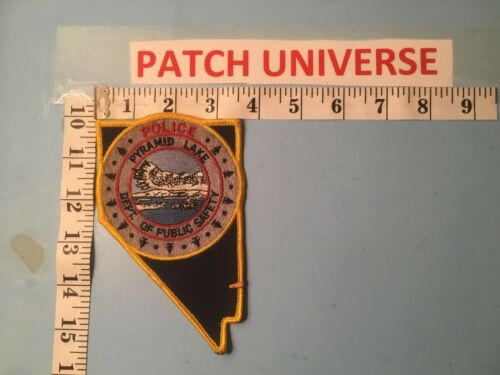 PYRAMID LAKE DEPT OF PUBLIC SAFETY POLICE SHOULDER PATCH Q047