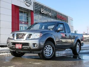 2016 Nissan Frontier SV ONE OWNER TRADE WITH LOW KM'S