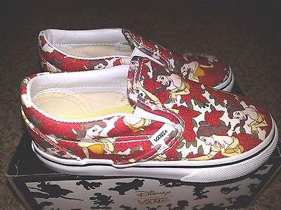 Vans X Disney Belle die Schöne und das Biest Kinder Zum Reinschlüpfen (Die Schöne Und Das Biest Schuhe)