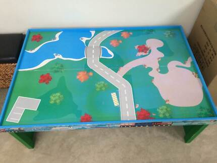 Kids Wooden Train, Car Play Table Port Pirie Port Pirie City Preview