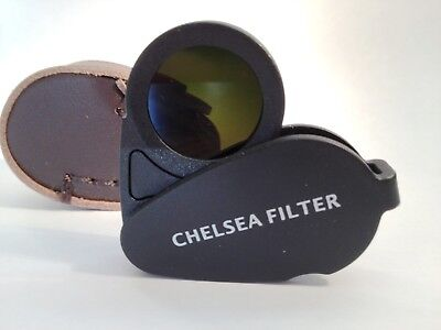 Chelsea Filter for testing Gemstone Gems,Testing, Loupe. GIA TOOLS - Black Color