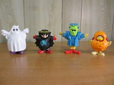 Vintage McDonald's Collectibles: Happy Meal Toys - 1995 Halloween Snap Costumes!