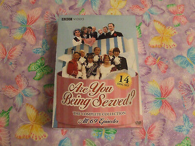Are You Being Served: The Complete Collection (DVD, 2009, 14-Disc Set) NEW