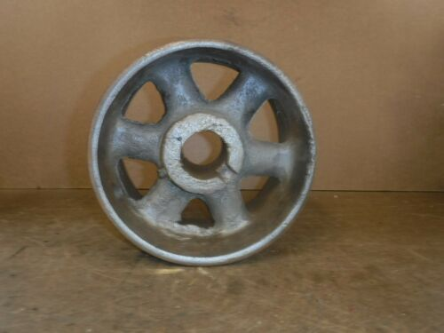 "8"" Cast Iron Flat Belt Pulley Gas Engine Motor"