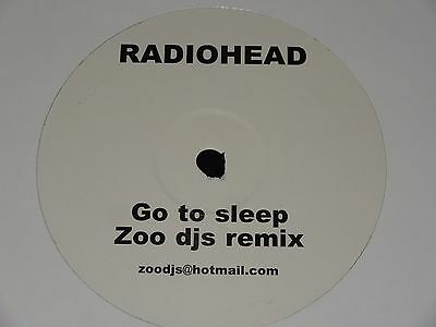 Radiohead Go To Sleep Zoo DJs Remix Sasha John Digweed Oakenfold Rare 2003 12""