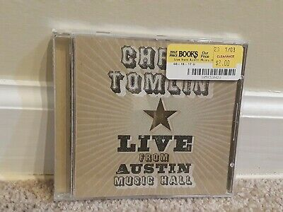 Live from Austin Music Hall by Chris Tomlin (CD, Dec-2005, Six Steps (Chris Tomlin Live From Austin Music Hall)