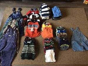 Huge lot of boy clothes 12-24 months