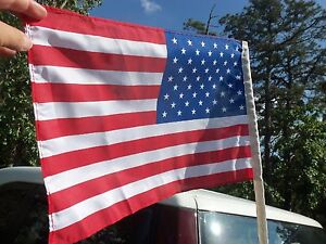Antenna American Flags fit over antenna on your Classic or Antique Car & Truck