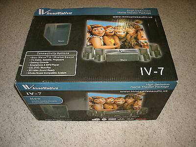 Innovative Audio IV-7 Home Theater Speakers - Brand New !!