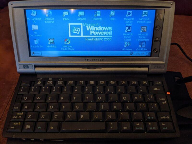 HP Jornada 728 Handheld PC / HPC / PDA