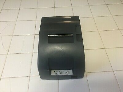 Refurbished Epson Tm-u220b Serial Pos Receipt Printer Gray M188b Printer Only
