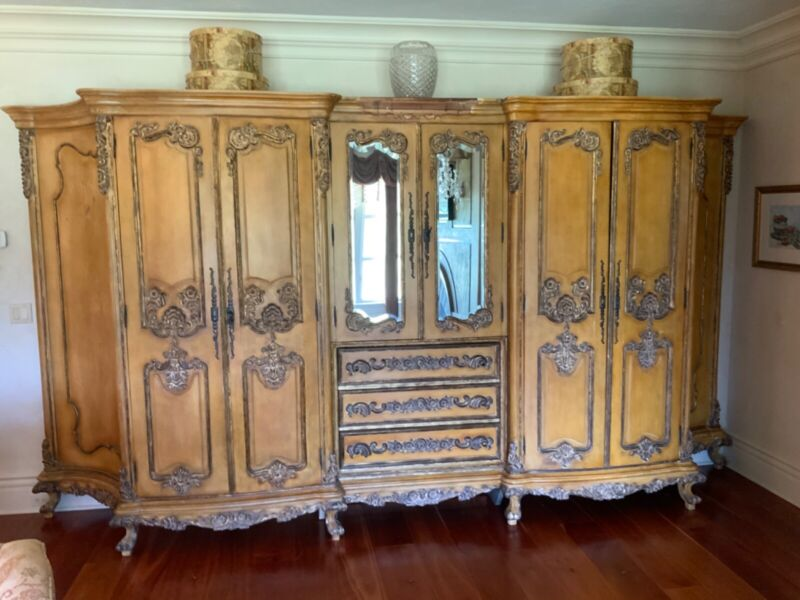 """19th Century French Armoire 166""""x89""""x26"""""""