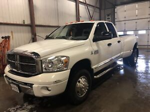 2007 dodge 3500 4x4 dually