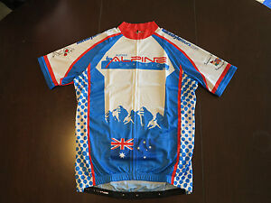 Audax-Australia-Alpine-Classic-Event-Jersey-2013-Cycle-Bike-Top-Brand-New