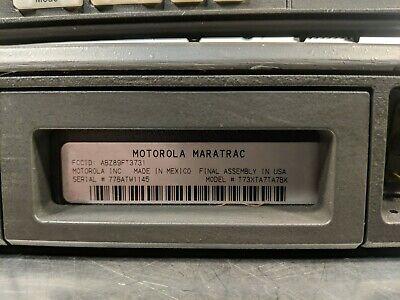 Motorola Maratrac Vhf High Band Radio T81xta7ta7bk 42-50 Mhz