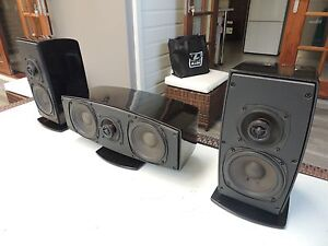 NHT Verve IV Surround Speakers - left,right & centre Lutwyche Brisbane North East Preview