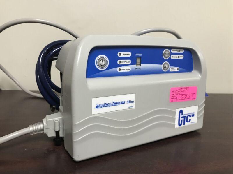 VasoPress Supreme Mini DVT Pump VP500DM CTC with Tubing **AMAZING CONDITION**