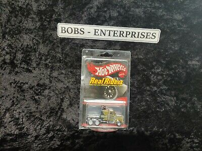 Hot Wheels RLC Series 14 Real Riders Long Gone.  real riders. Gold Rush he -11