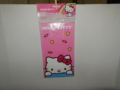 Hello Kitty Goody Bags (Sanrio Hello Kitty Paper Treat Bags Party Favor Gift Bags 12)