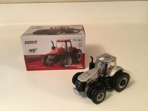 1/64 Case IH Magnum 380 Winter Farm Show Silver Chase Edition