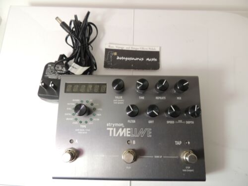 Strymon Timeline Digital Delay Effects Pedal w/Adapter  Free USA Shipping
