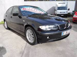 2003 BMW 318I EXECUTIVE Sedan Fawkner Moreland Area Preview