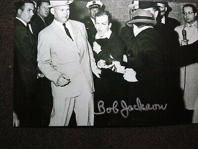 ROBERT H JACKSON Hand Signed Autograph 4X6 Photo -PHOTOGRAPHER JFK ASSASSINATION