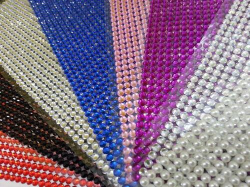 648pcs Adhesive Stick On Diamonte Gem Crystal Rhinestone Scrapbooking Craft 3mm