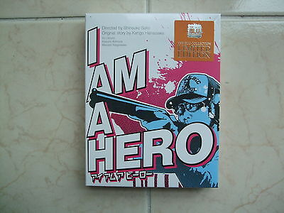 I Am A Hero (2017, Blu-ray) Full Slip Limited Edition / Type A