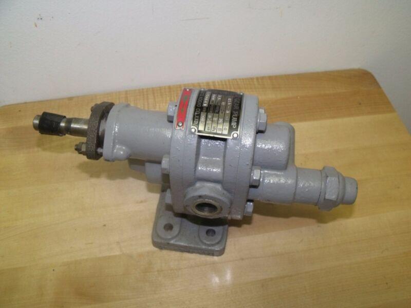 Daito Kogyo HSR-3-30 Rotary Gear Pump 1/2