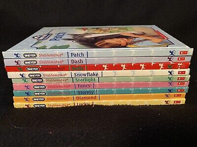 Breyer Stablemates Books, Lot of 9 hardcover