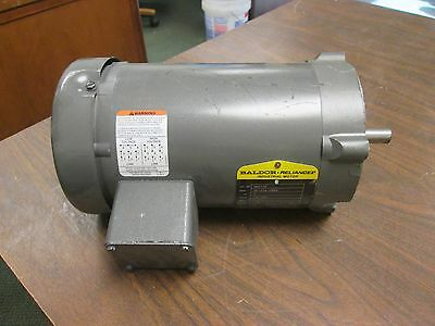 Baldor Motor Vm3109 0.5hp 1140rpm 56c Frame 230460v 2.41.2a Used