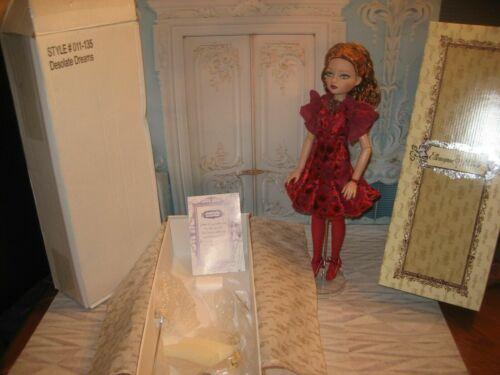 """Ellowyne Wilde Doll """"Desolate dreams"""" Orig Box & Shipper with Poem"""