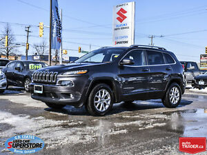 2014 Jeep Cherokee North 4x4 ~Heated Seats + Wheel ~Remote Start