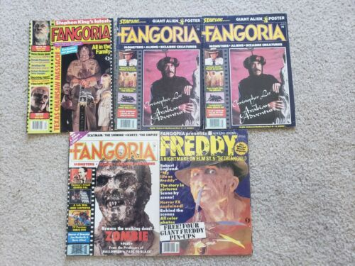 Fangoria Magazine Lot #3 #8 Others