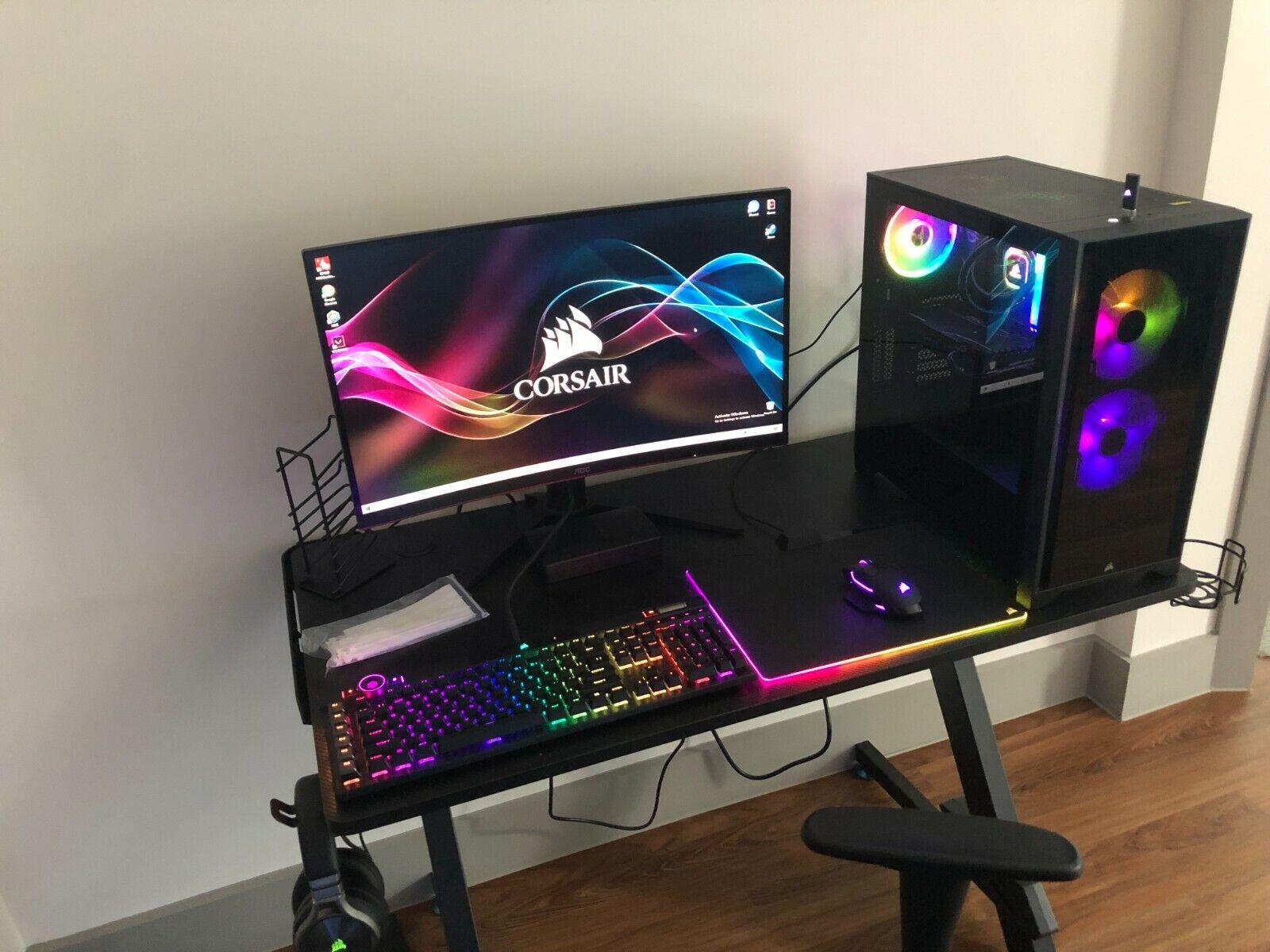 Corsair Gaming computer full setup