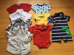 Boys 12-18m SUMMER and WINTER clothing $1 per item