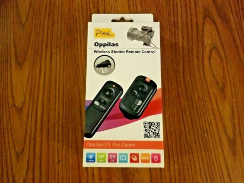 Pixel RW-221 Oppilas/E3 Wireless Shutter Remote Control for Canon