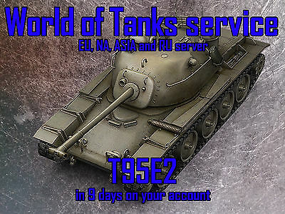 World Of Tanks Eu  Na  Ru And Asia   T95e2   In 9 Days On Your Account