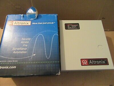 Altronix Al125ul Power Supplycharger