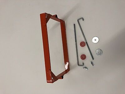Allis Chalmers D19 Battery Hold Downs