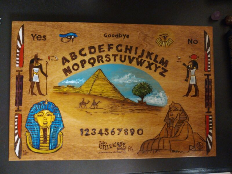 Egyptian Ouija Board Universe Board talking board 12x18