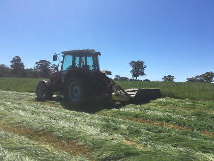 Hay Baling Small Squares and Rolls