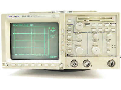 Tektronix Tds 340a 2-channel Digital Real-time 100mhz 500mss Oscilloscope