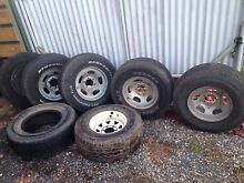 80 series Landcruiser rims and tyres Lobethal Adelaide Hills Preview