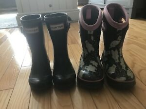 Girls Hunter Boots & Bogs size 9