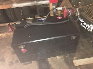 Tool box with fuel cell