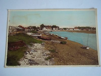 LANGSTONE FROM NORTH HAYLING POSTCARD - HAMPSHIRE HAYLING ISLAND