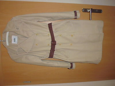 Closed Damen Mantel, Trenchcoat Gr. 40 Canvas Baumwolle Canvas Trench Coat