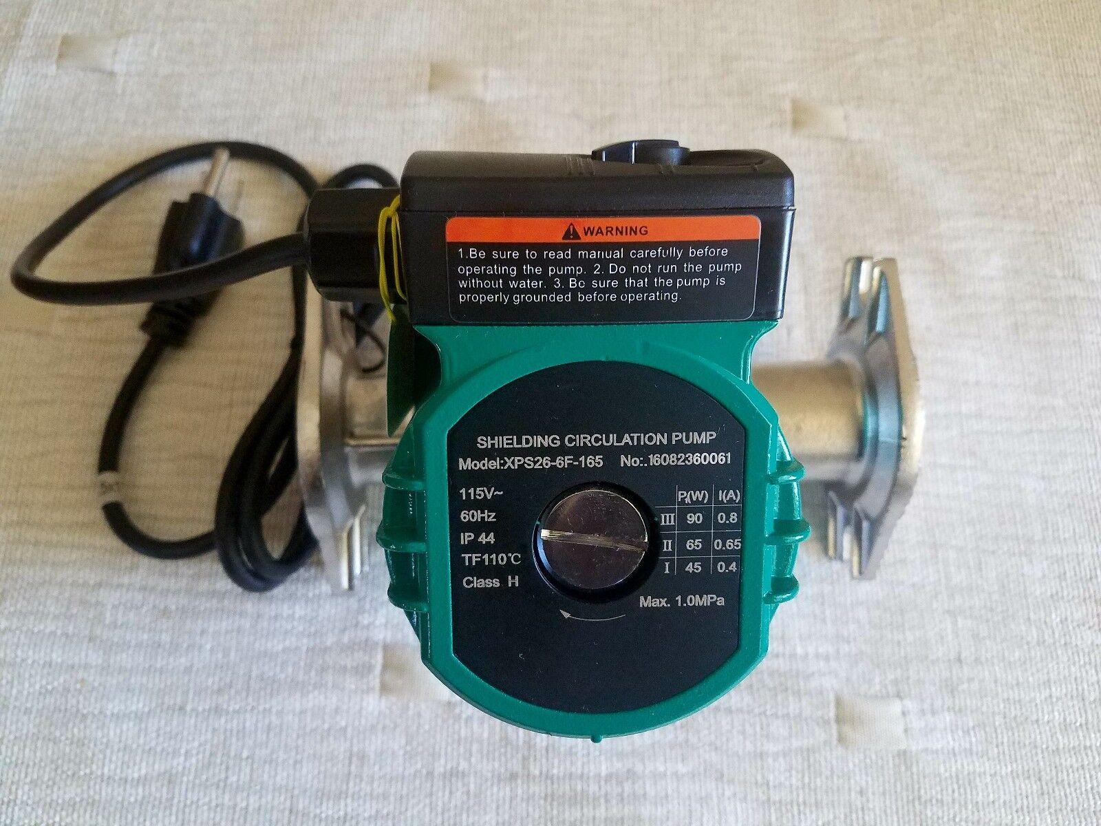 "3/4"" Water Circulation Pump Stainless Steel 3 Speed Circulat"